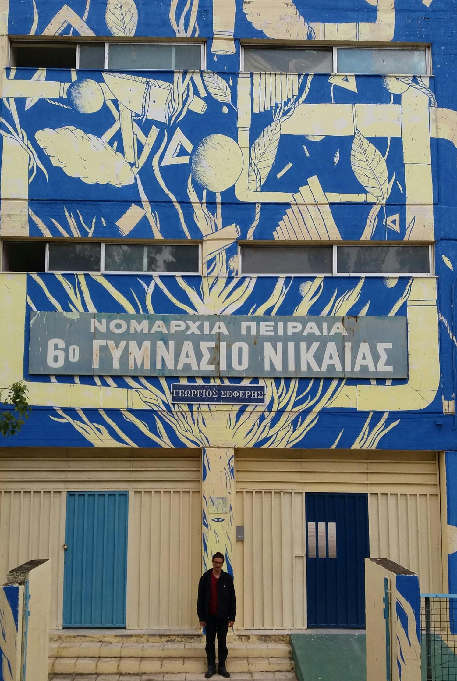 Il murale di Crisa ad Atene — GORGO