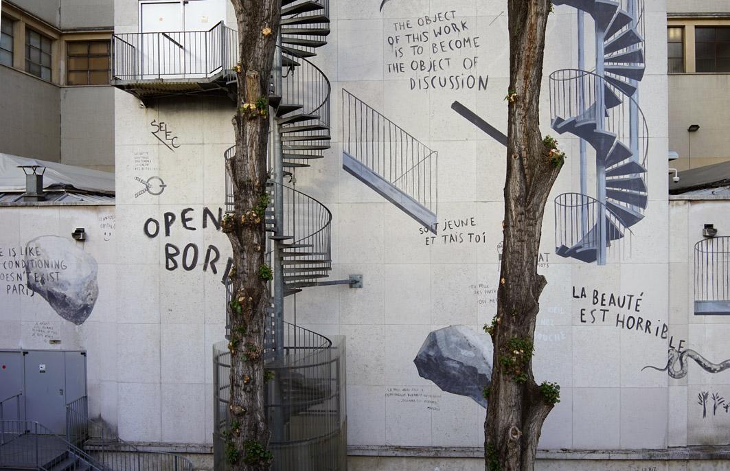Escif Open Borders Palais de Tokyo Lasco Project