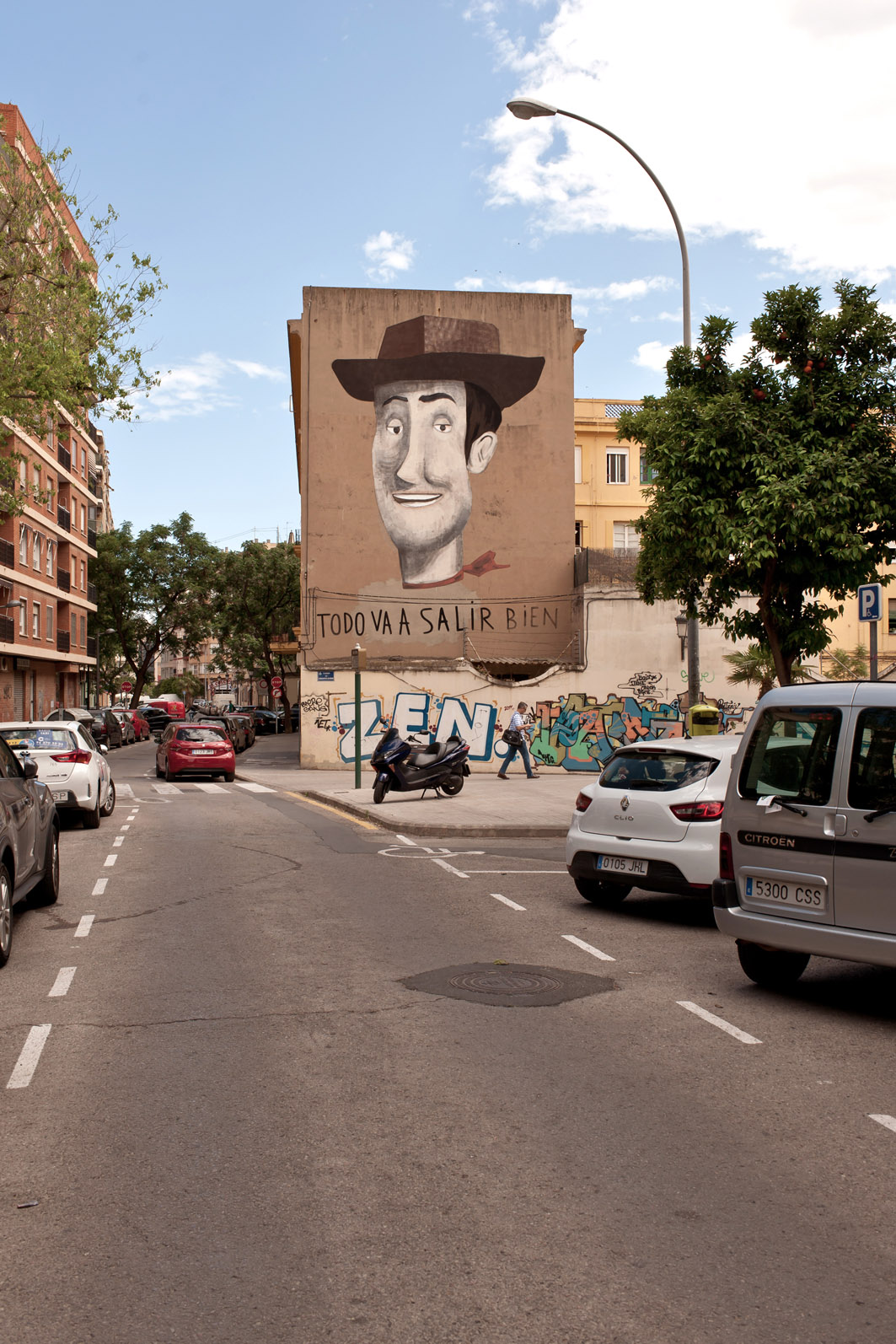 Escif Woody Patraix Valencia