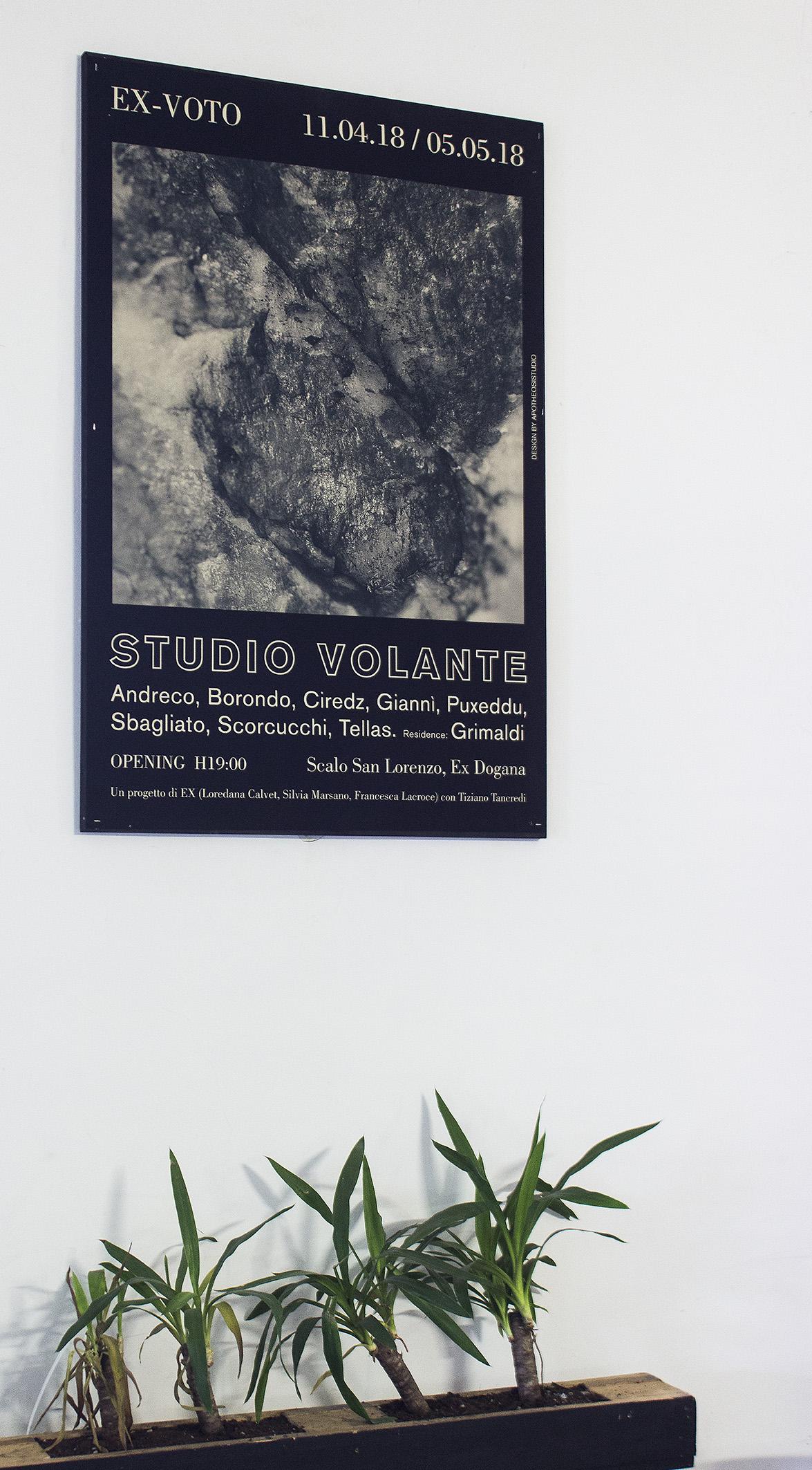 ex-voto-mostra-ex-dogana-roma Studio Volante