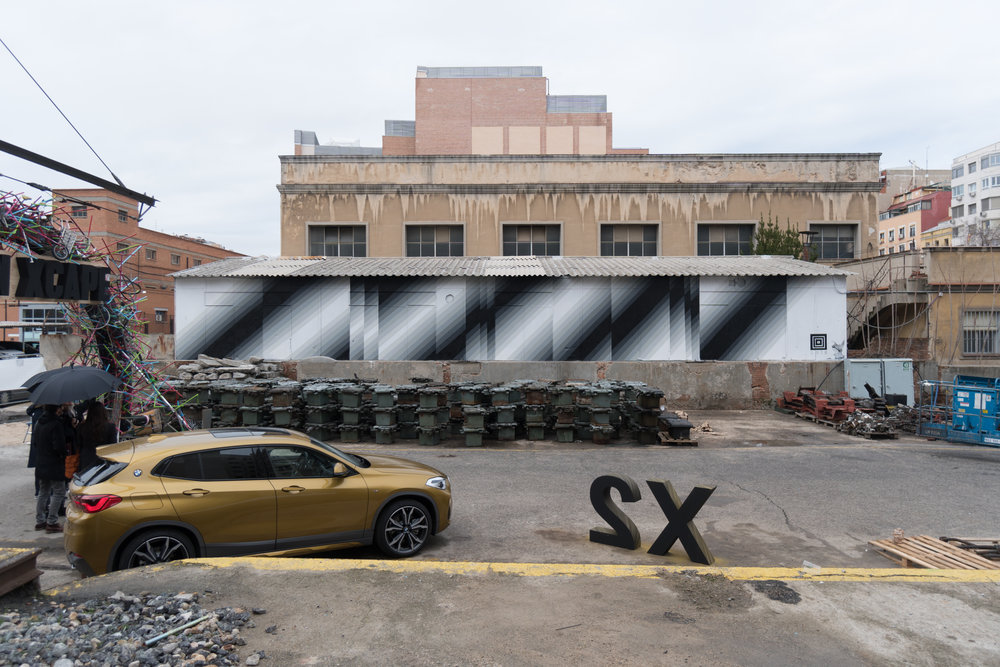 Felipe Pantone Urban Xcape Madrid