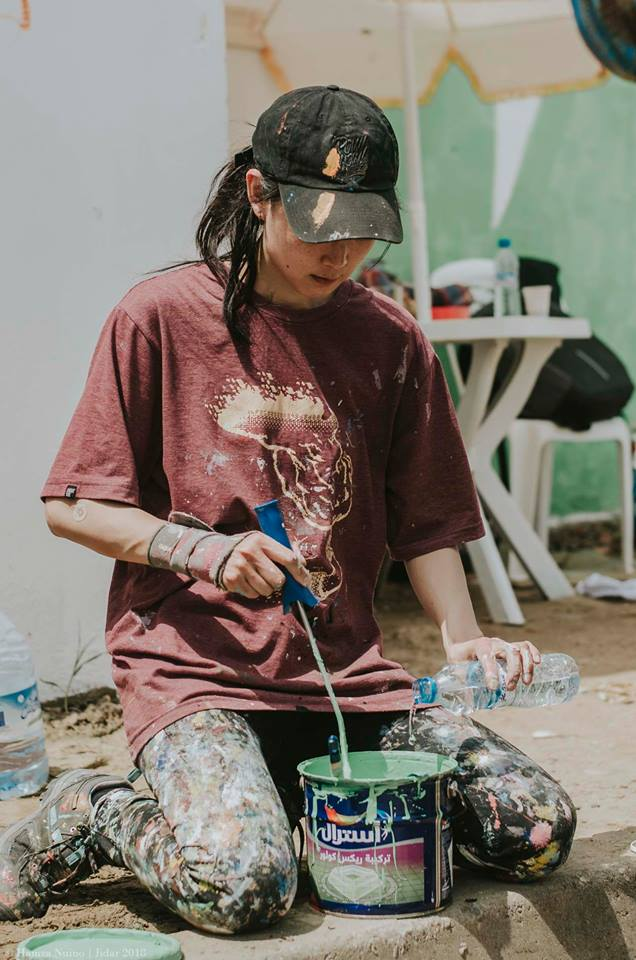 Mina Hamada Rabat JIDAR – Toiles de Rue