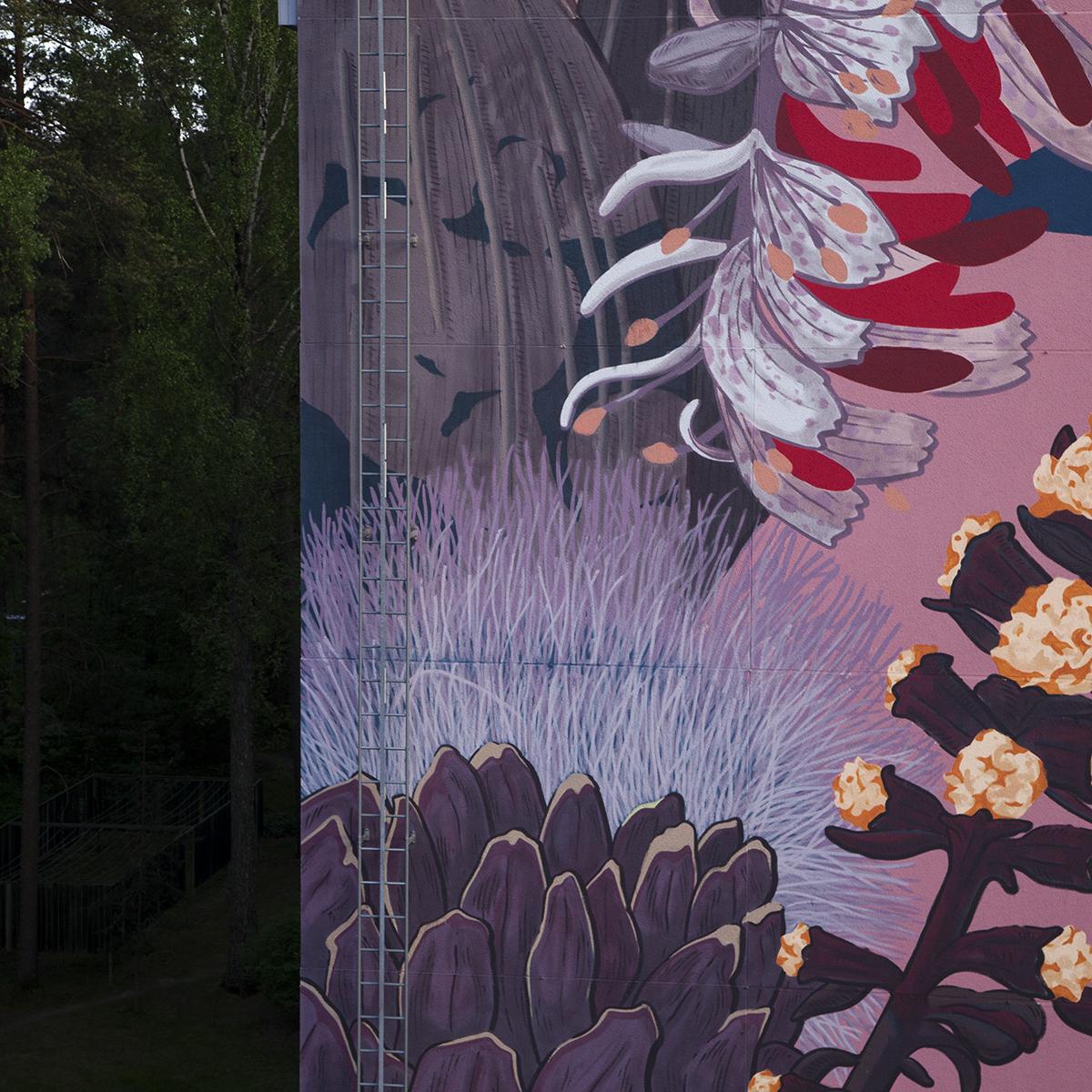 Pastel Mural Espoo