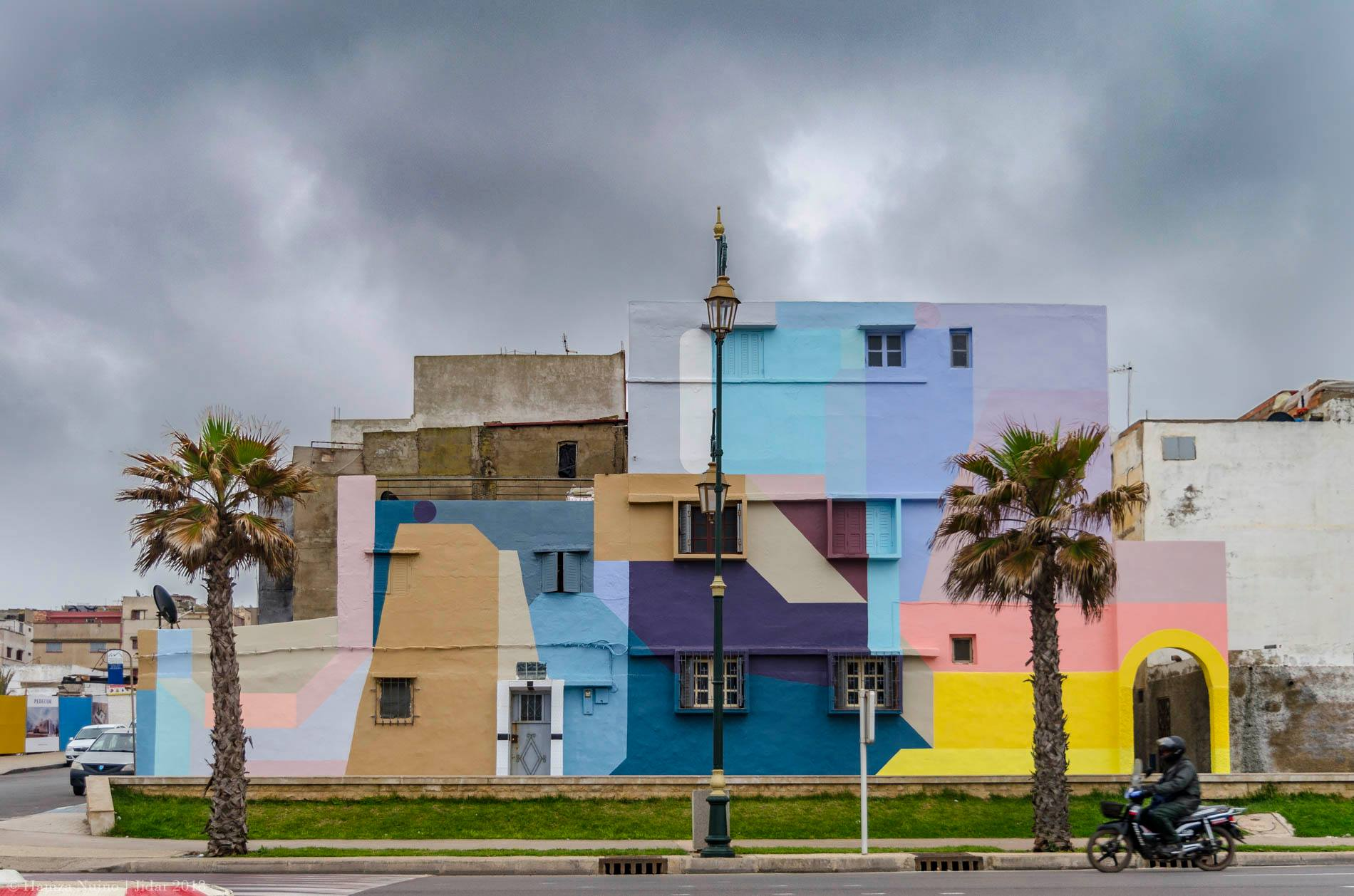 Nelio Rabat JIDAR - Toiles de Rue