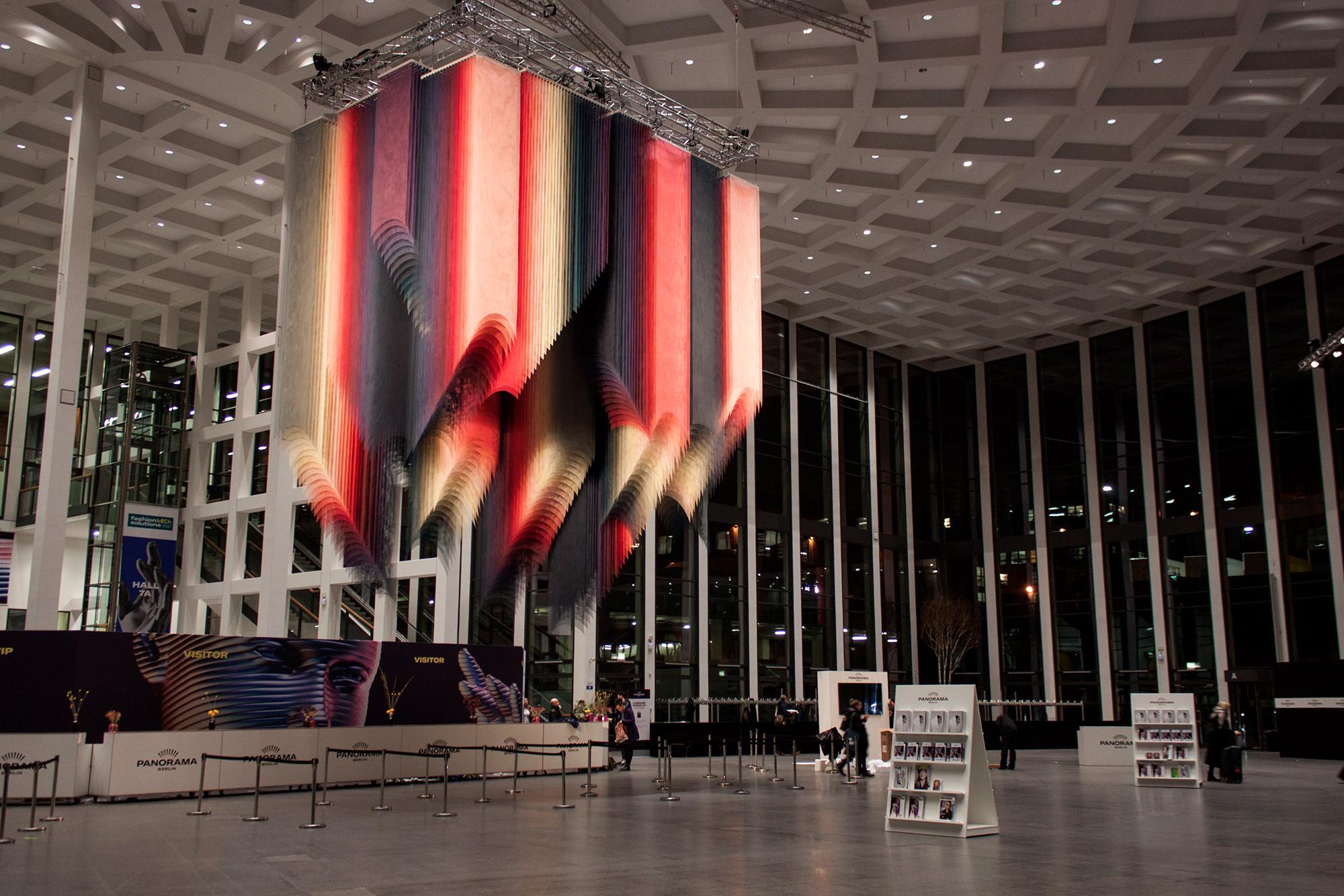 Quintessenz Installation Panorama Fashion Week Berlino