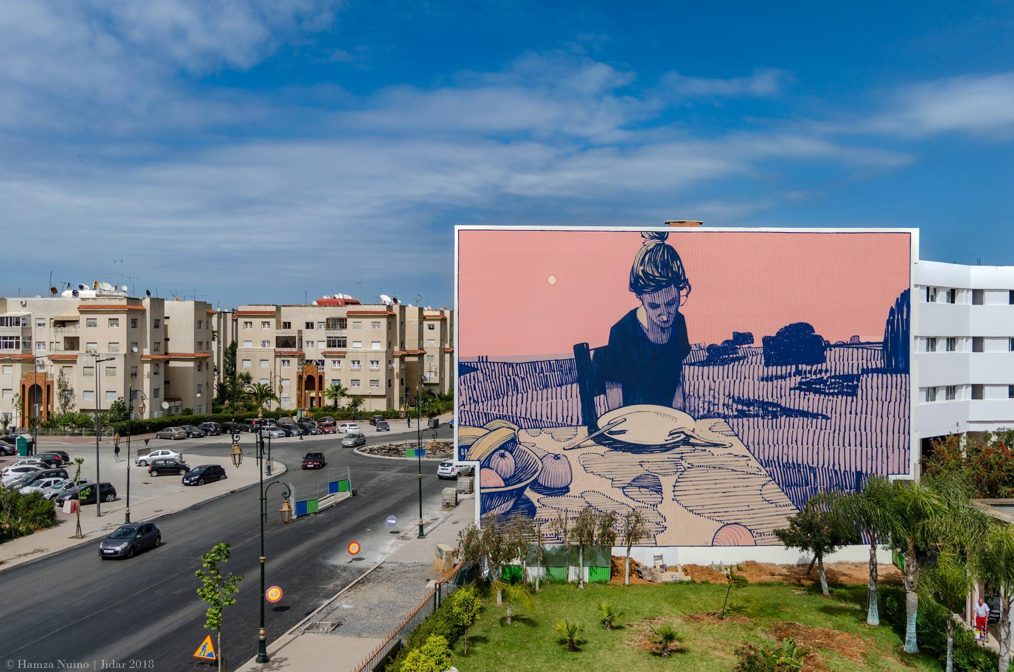 Sainer Etam Cru Rabat JIDAR - Toiles de Rue