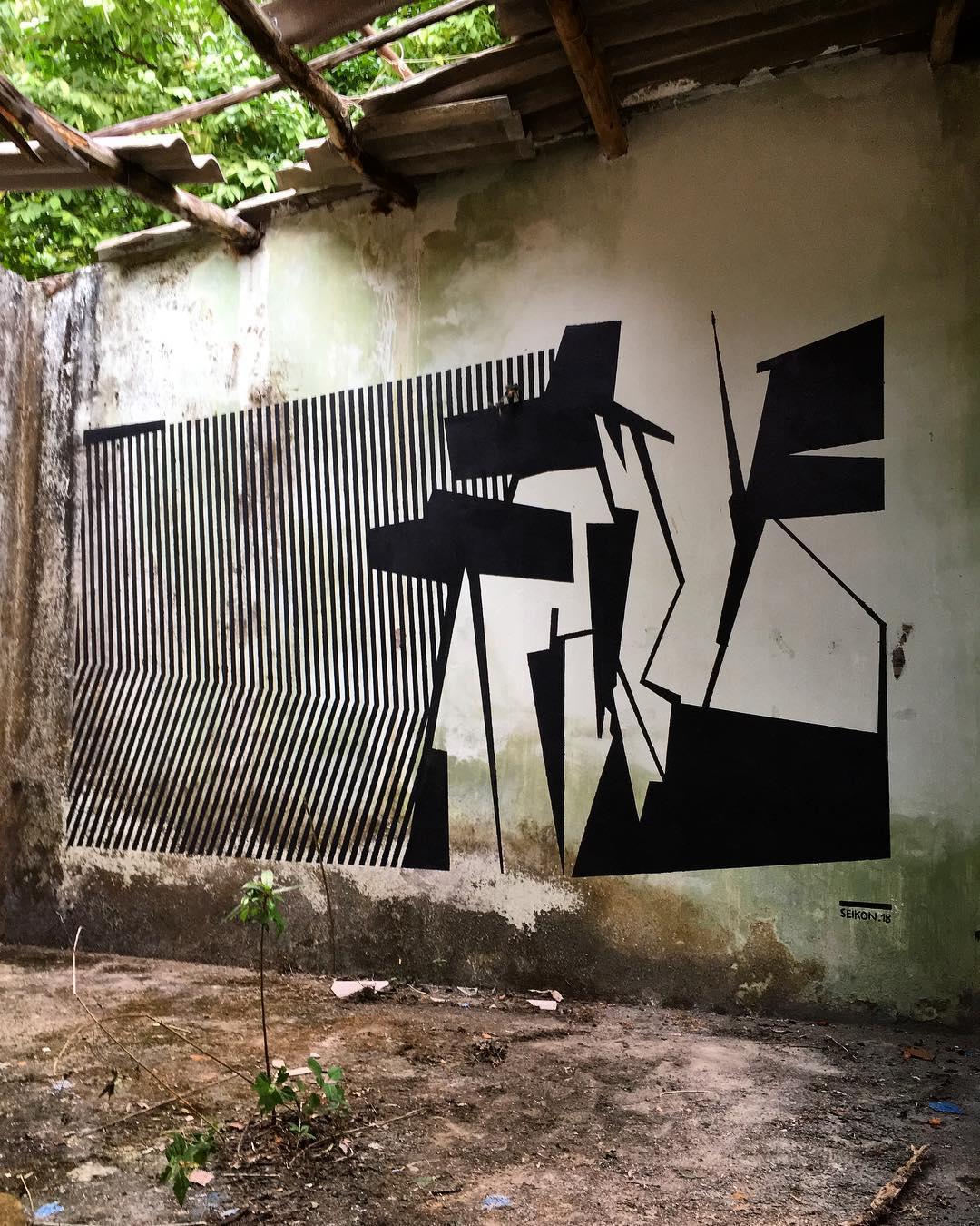 Seikon Street Art Mural