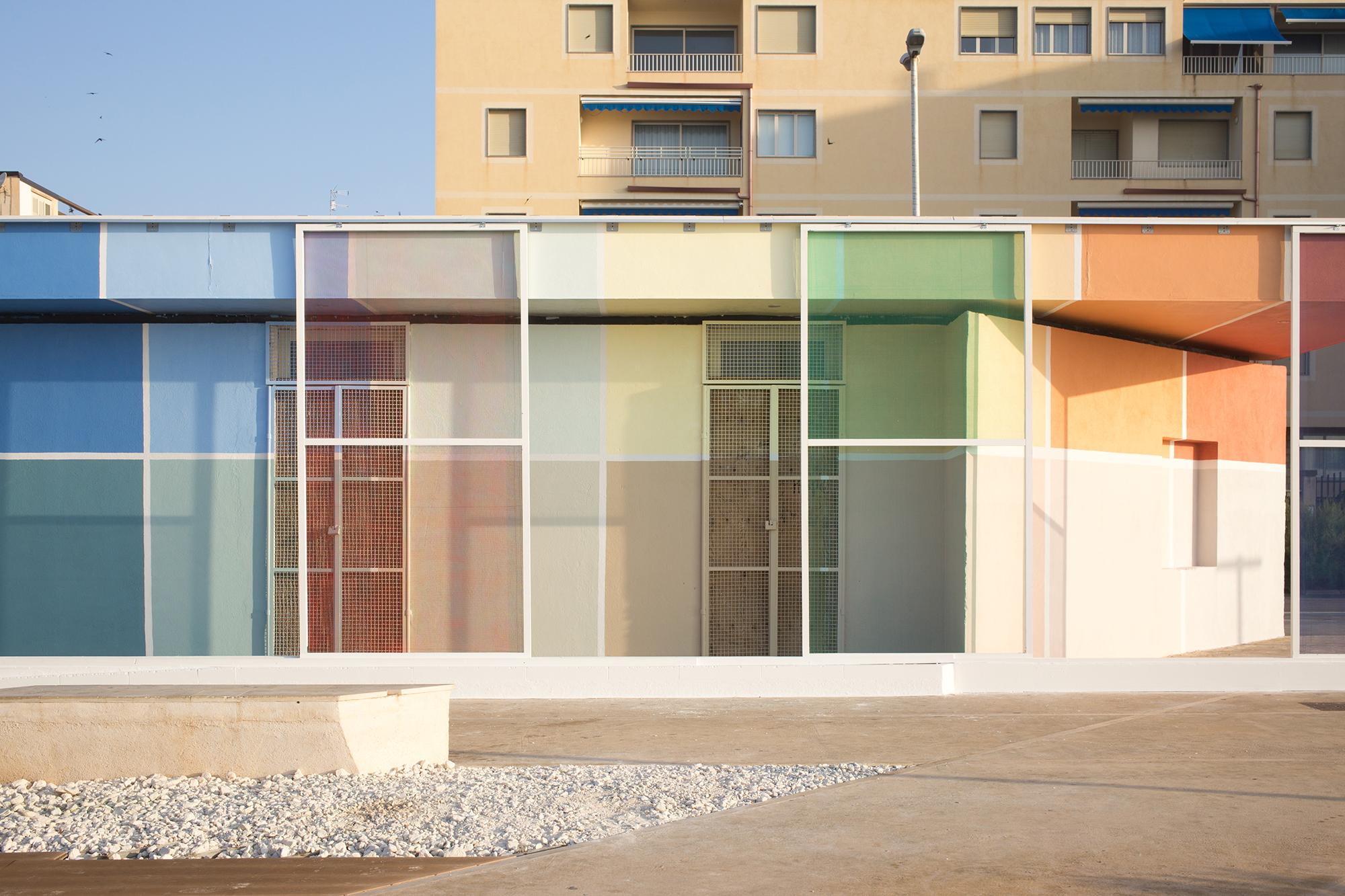 Alberonero architettura mobile Pozzallo Festival Border Arts