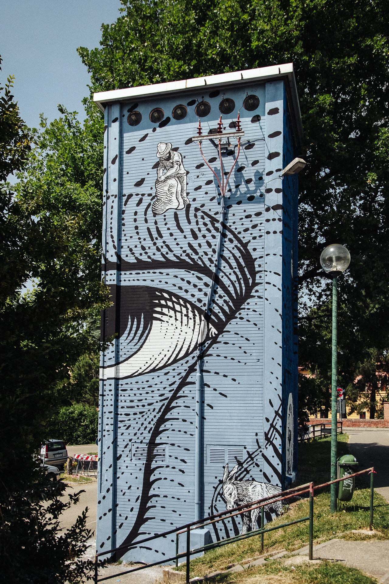 Andrea Casciu Imola T.A.G. (Torri, Arte e Graffiti)