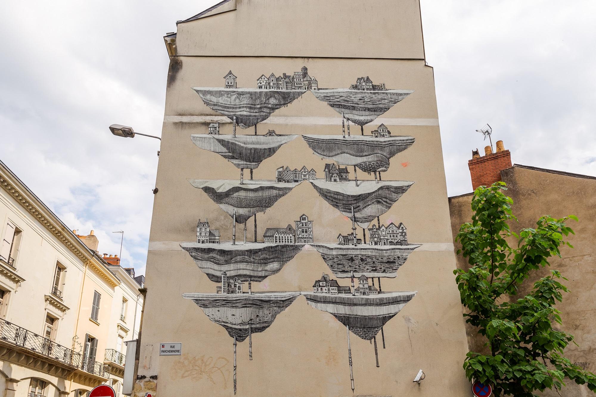 Daniel Muñoz SAN Angers Street Art Echappées d'Art 2018