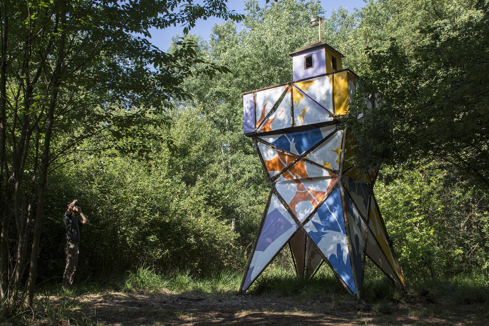 Dilen Tigreblu Parco delle Groane SHOT - Inneschi Contemporanei in Polveriera
