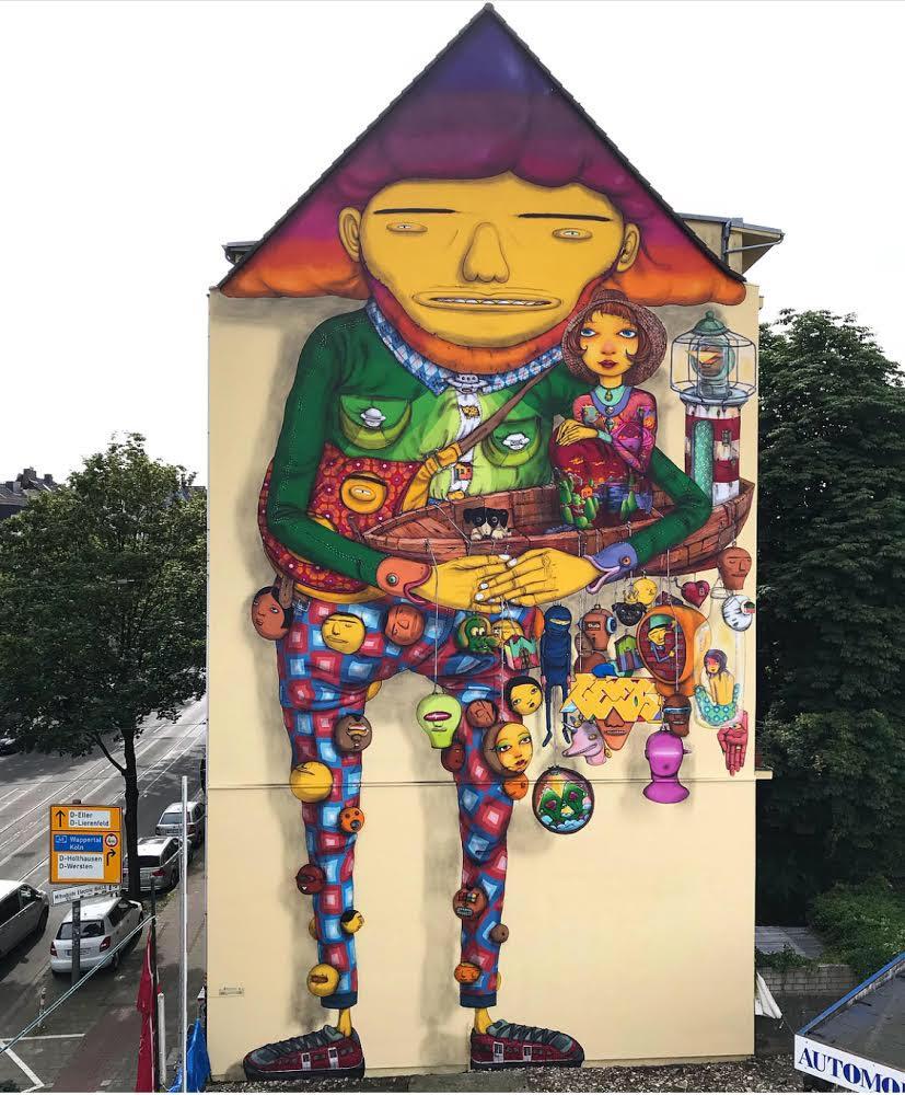 OSGEMEOS Düsseldorf