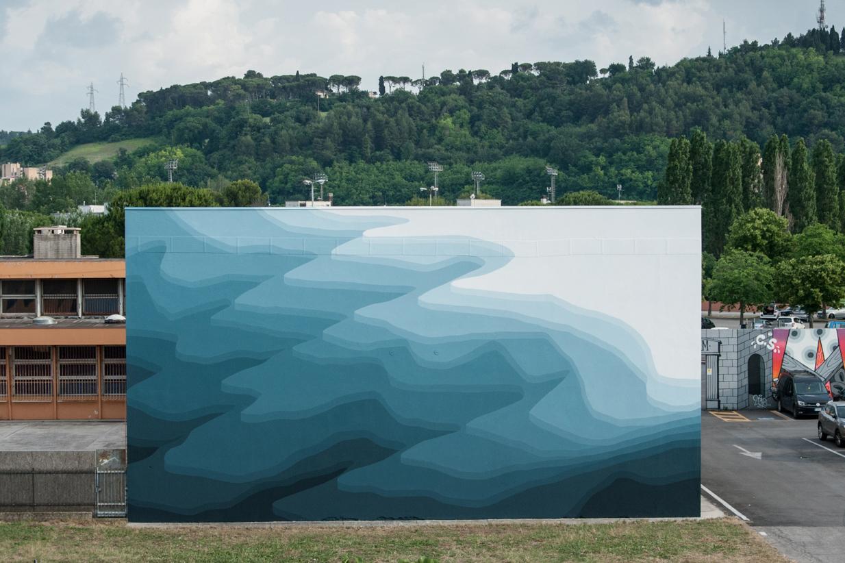 Il murale di Roberto Ciredz a Pesaro — GORGO