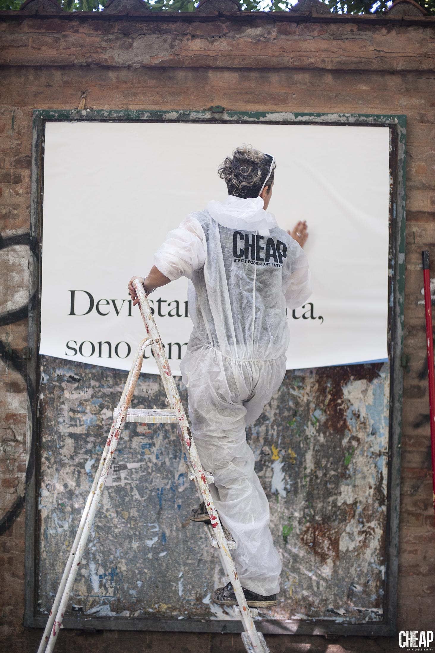 Cheap Festival Santarcangelo Festival Via Irnerio Bologna Poster