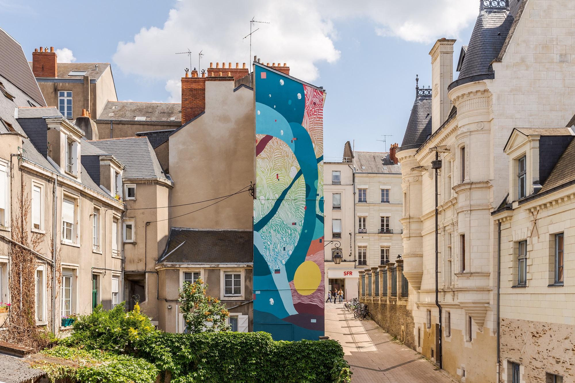 Tellas Angers Echappées d'Art 2018 street art