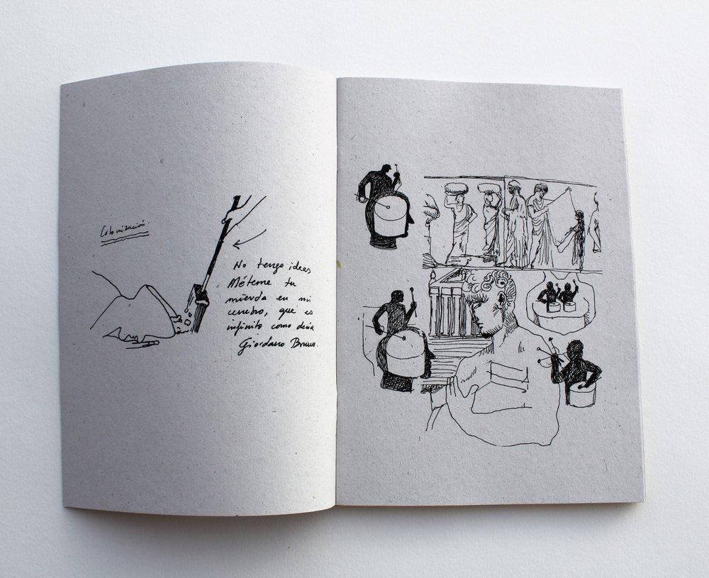 Sam3 Fanzine Sketches