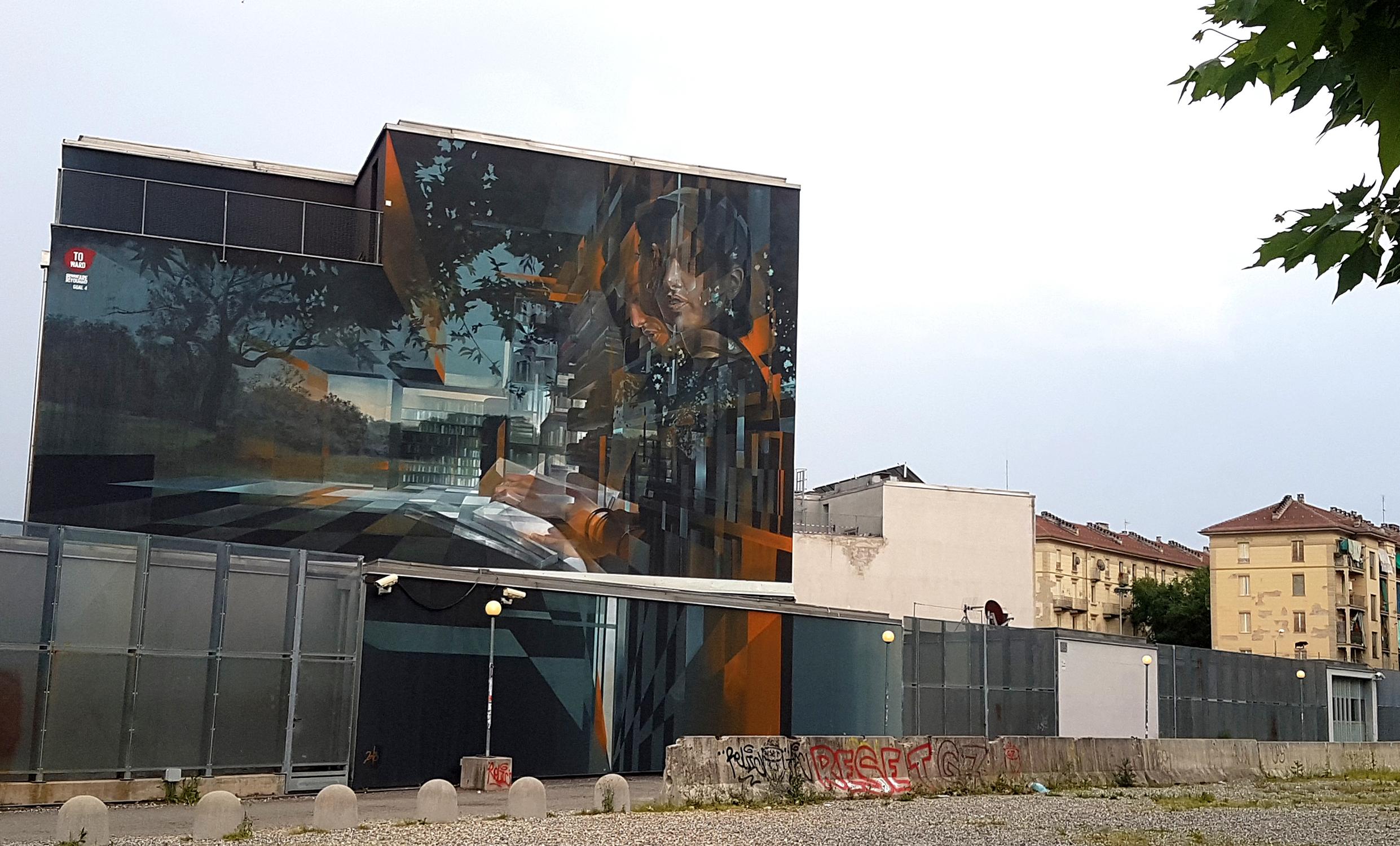 Vesod Campus Luigi Einaudi di Torino street art