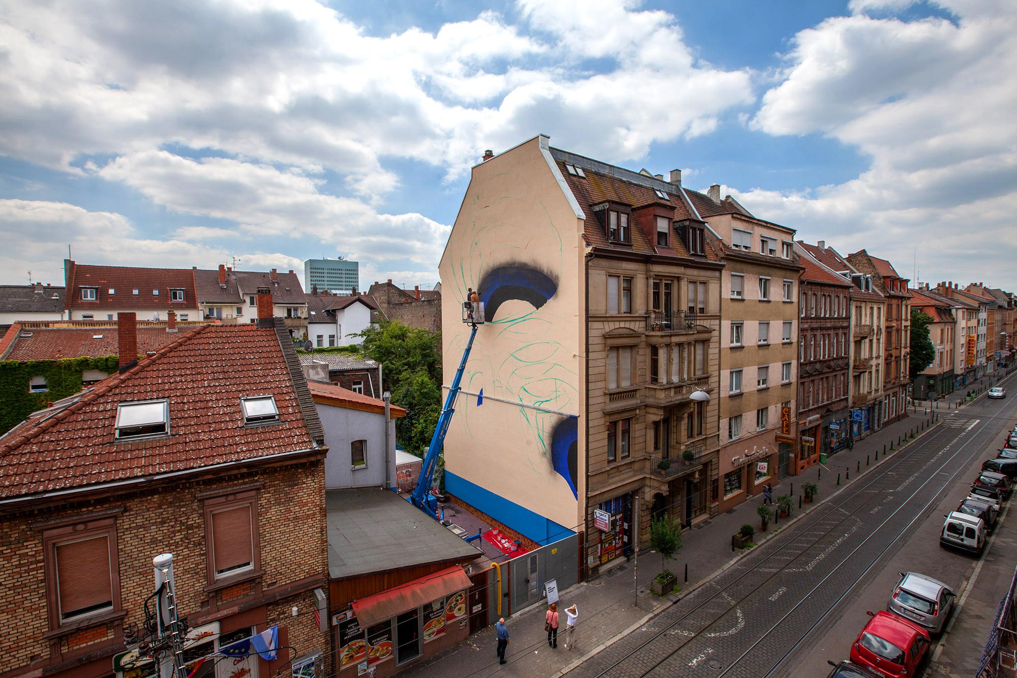 1010 Mannheim Stadt.Wand.Kunst