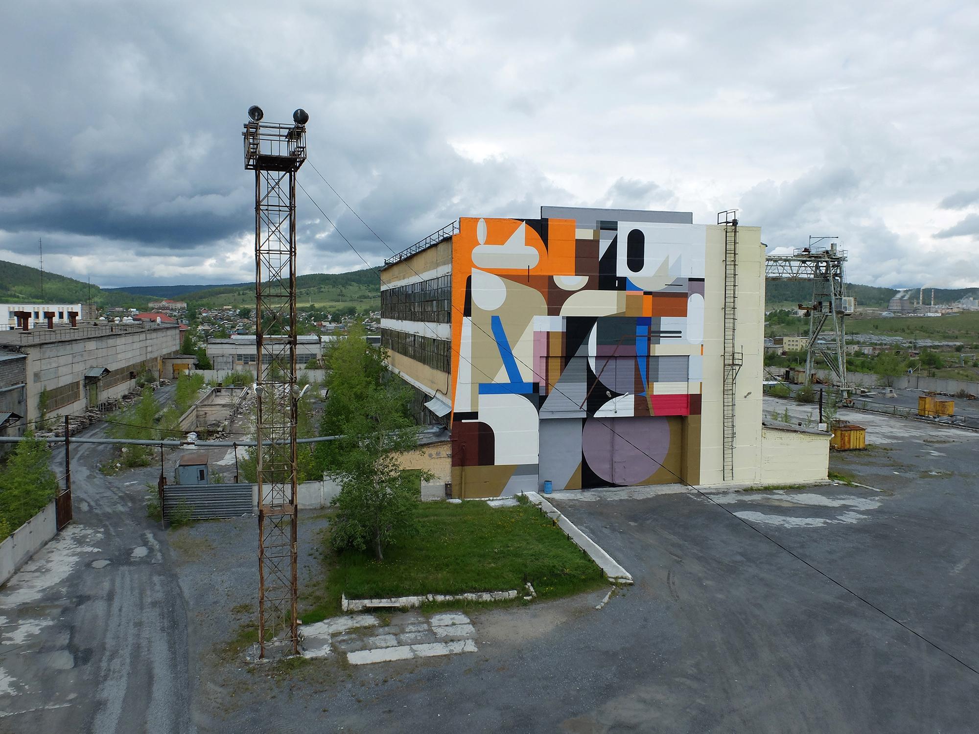 Alexey Luka Satka Street Art Fest