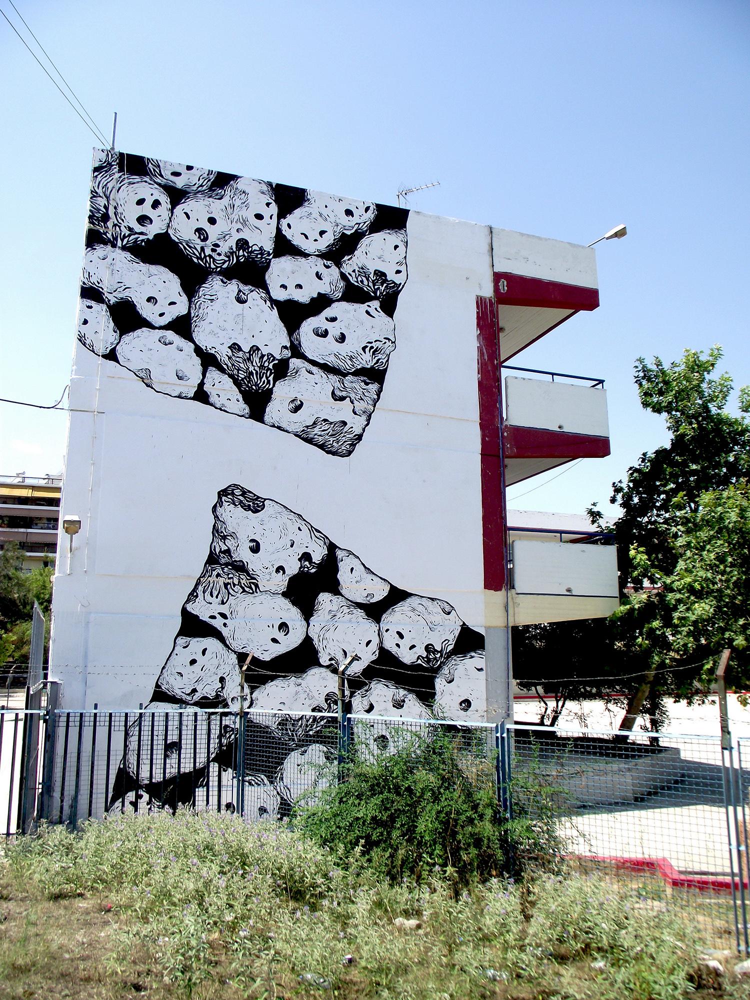 Luigi Loquarto Gig Athens Street Art Festival