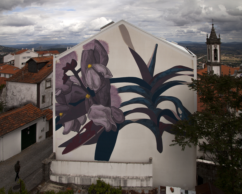 Pastel murales Covilhã Portugal