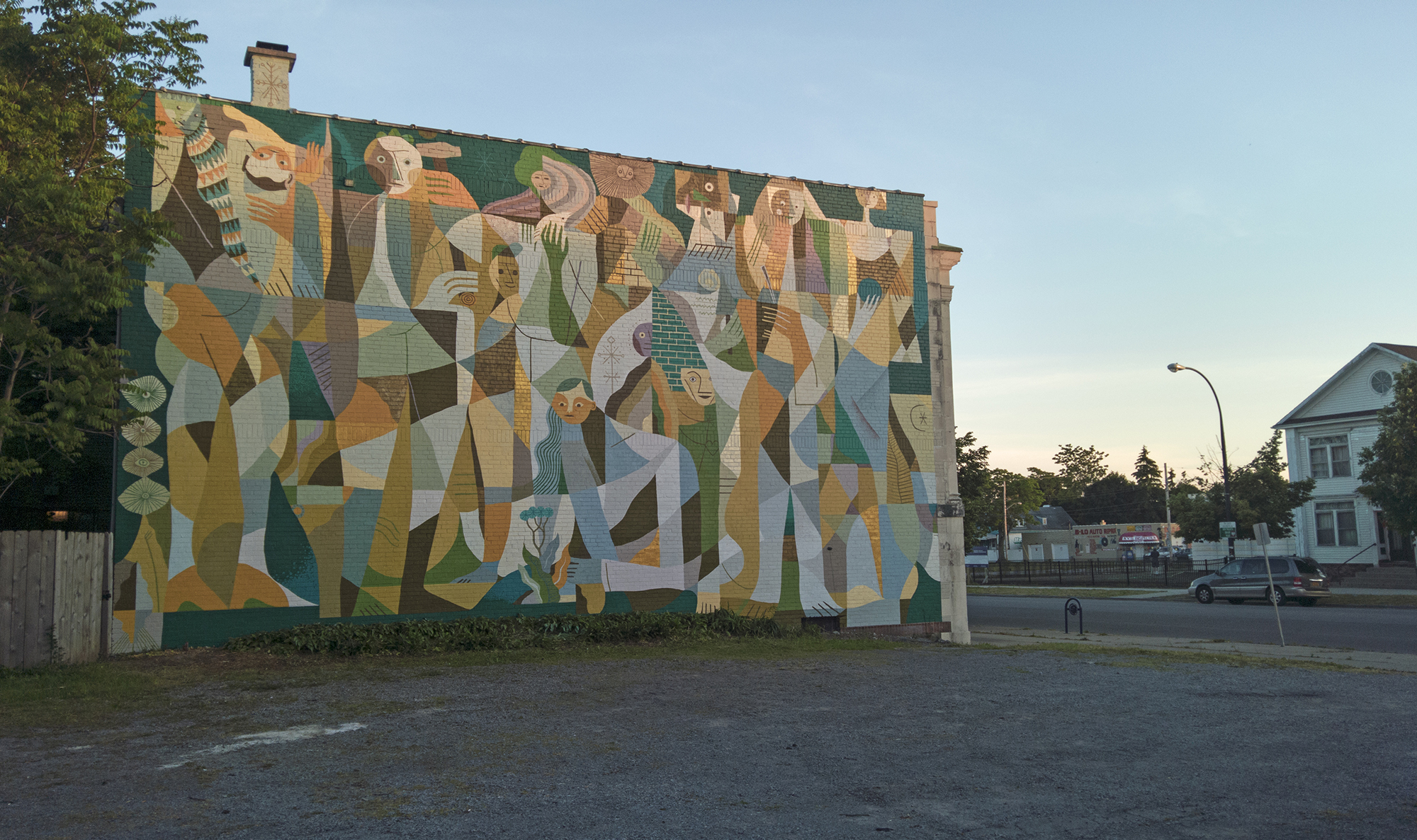 Otecki Street Art Buffalo Ny