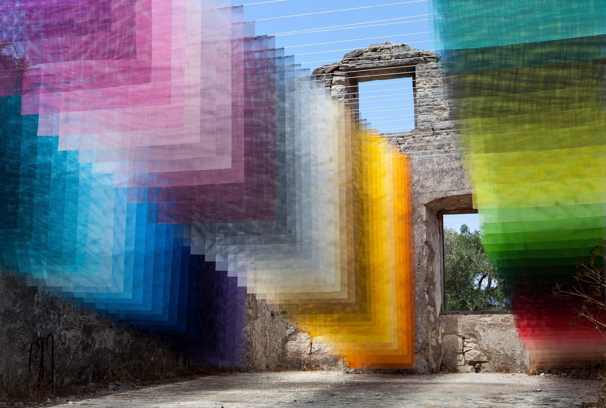 Quintessenz Installation Paxos Contemporary Art Project