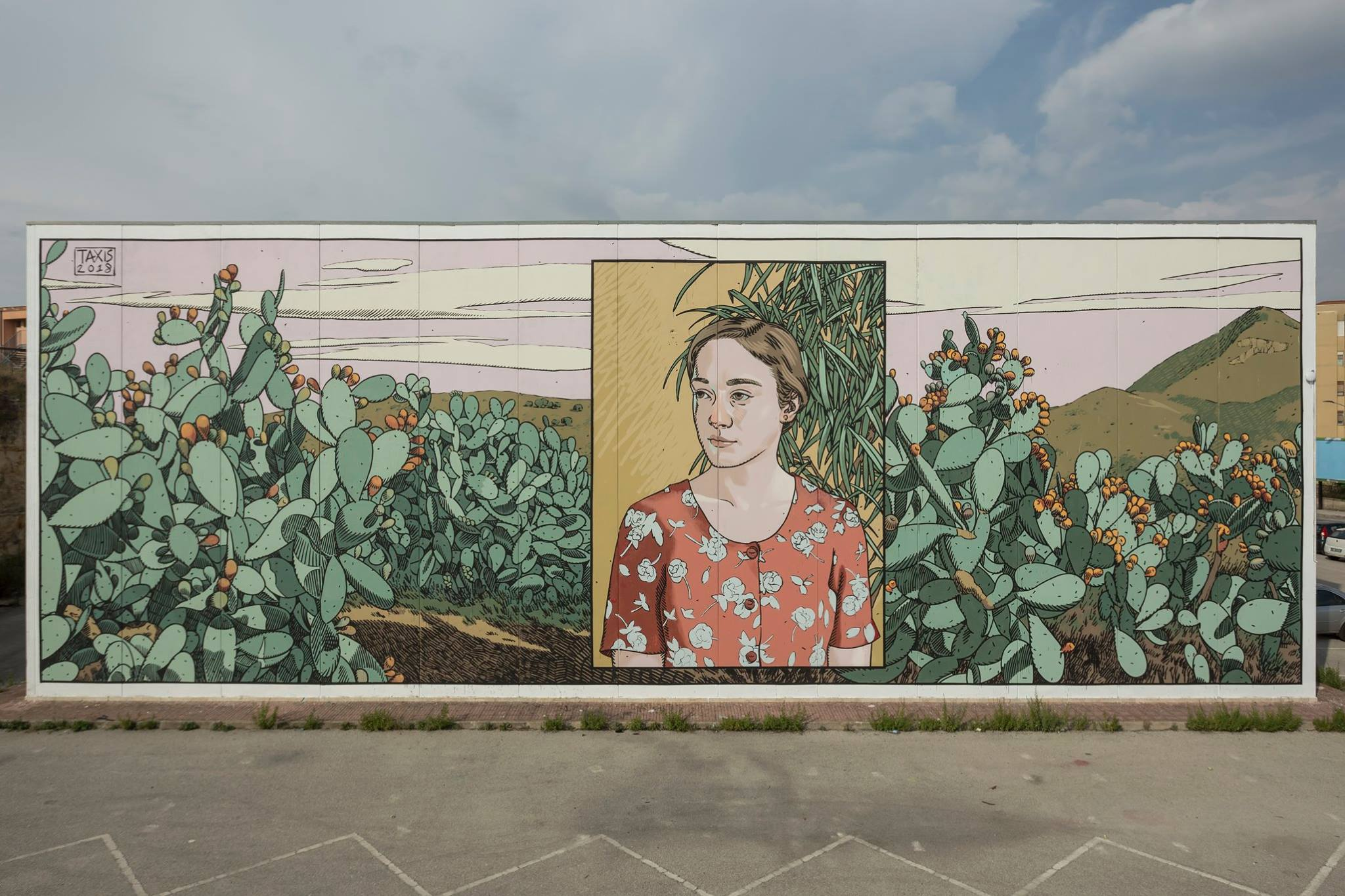 Dimitris Taxis Street Art Ragusa FestiWall