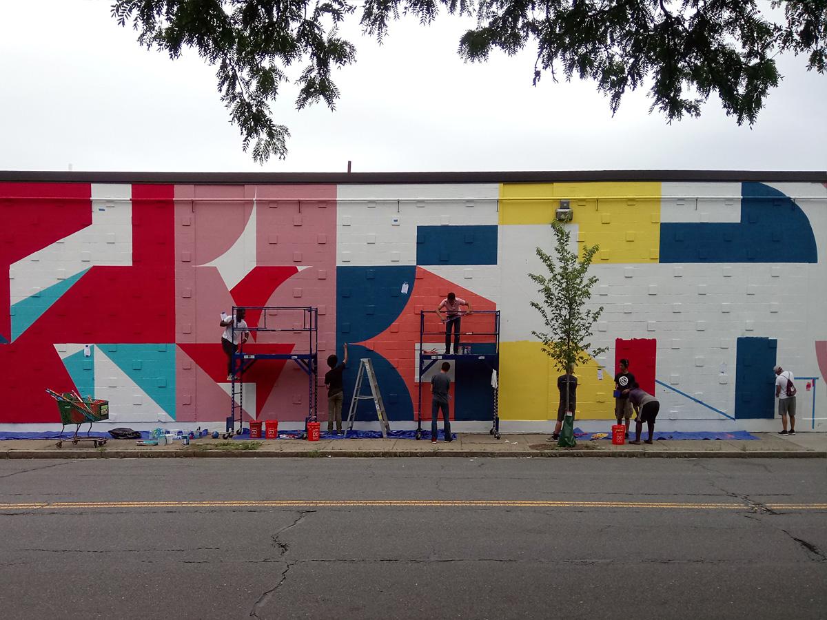 Eltono Street Art Lynn Massachusetts Beyond Walls Festival RAW Art Works