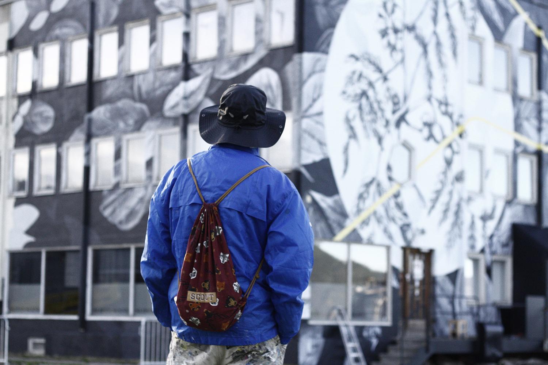 Fabio Petani Street Art Slipen Sceneuna Rognan UpNorth Festival