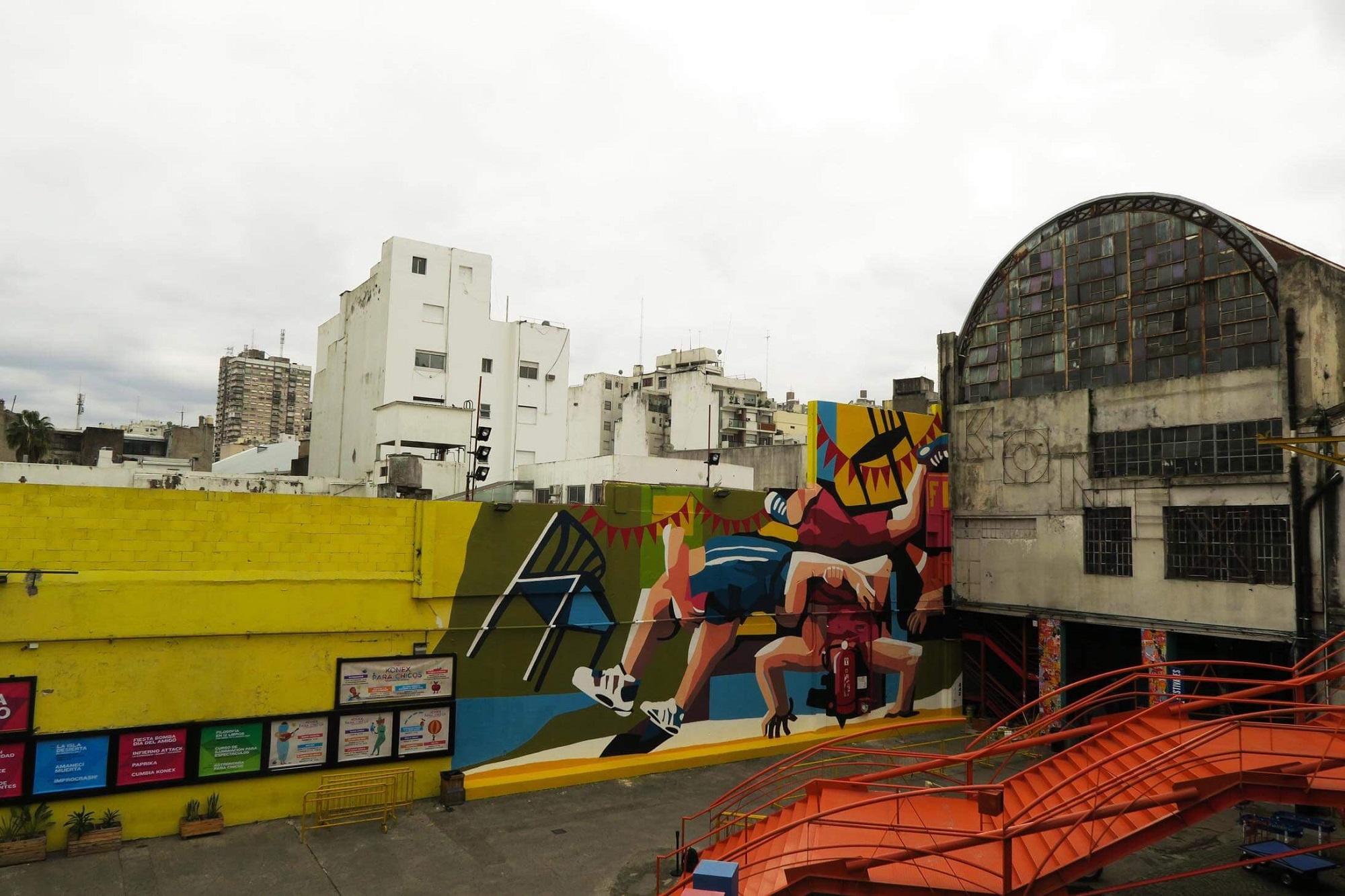 Franco Fasoli JAZ Mural Buenos Aires