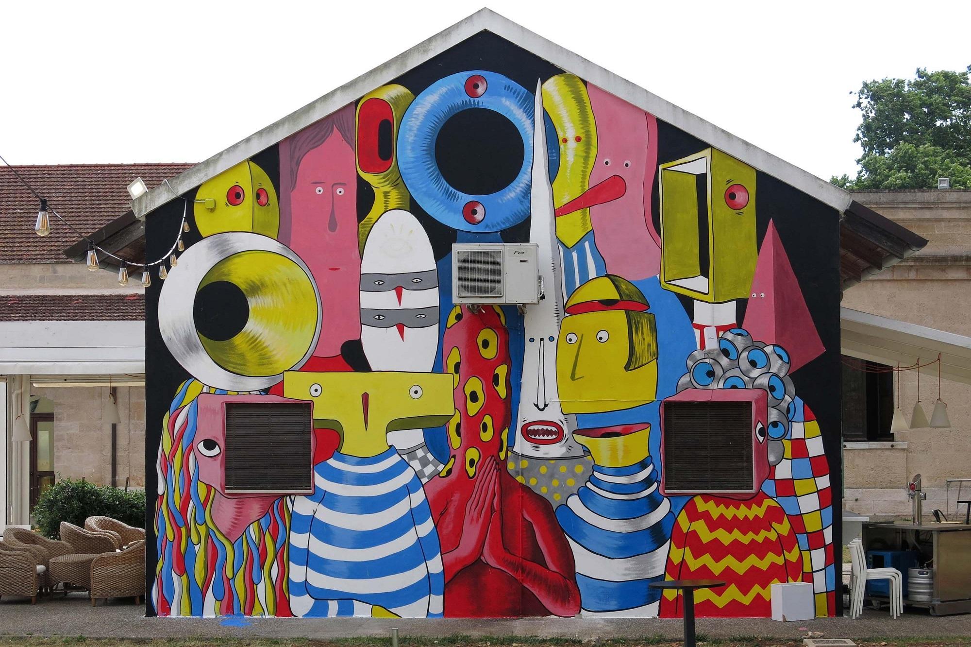 Gods in Love Raffaele Fiorella San Vito dei Normanni Murales Street Art