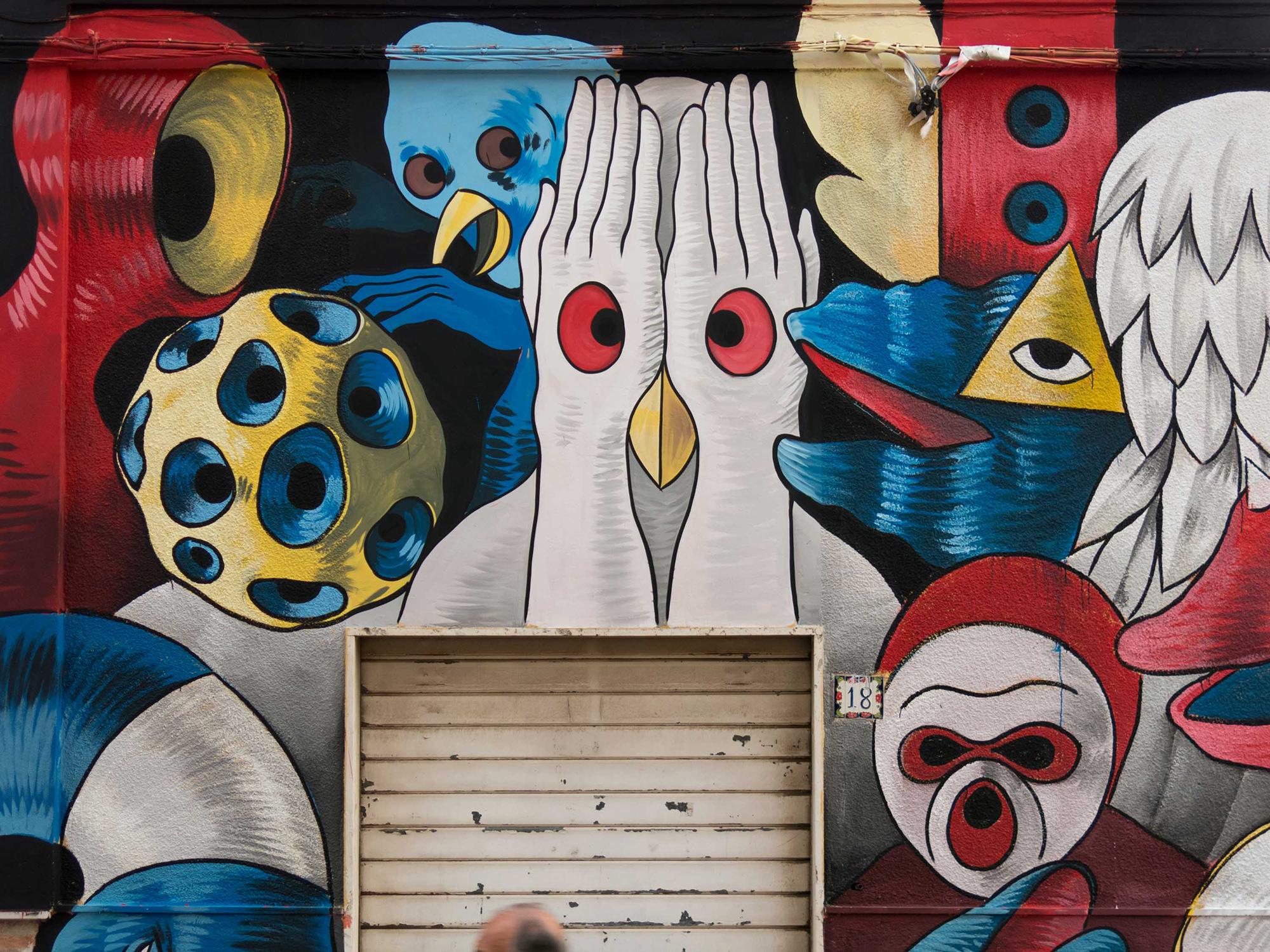 Gods in Love Street Art Stornara Stramurales
