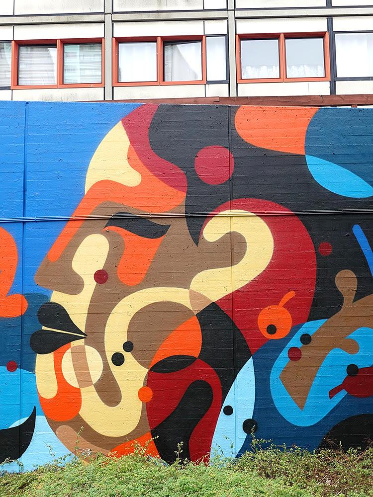 James Reka Brøndby Strand Mural