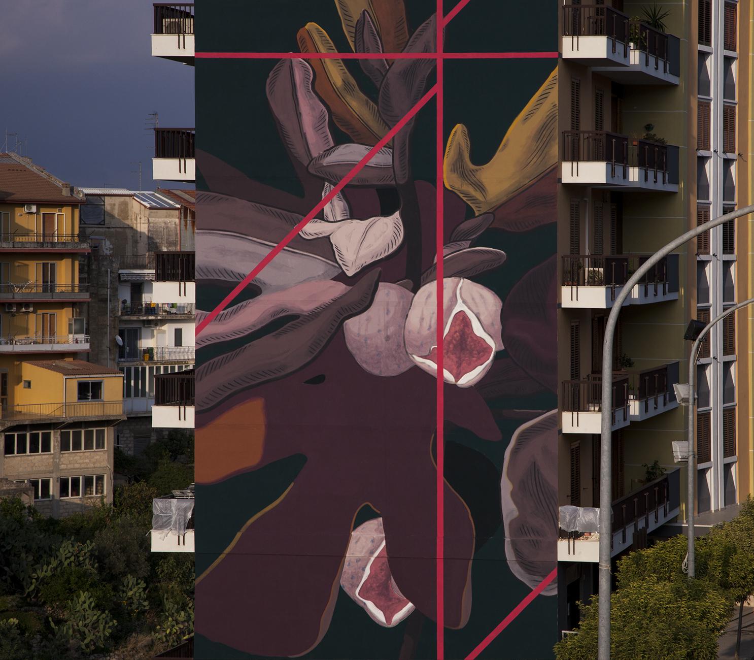 Pastel Street Art Ragusa FestiWall