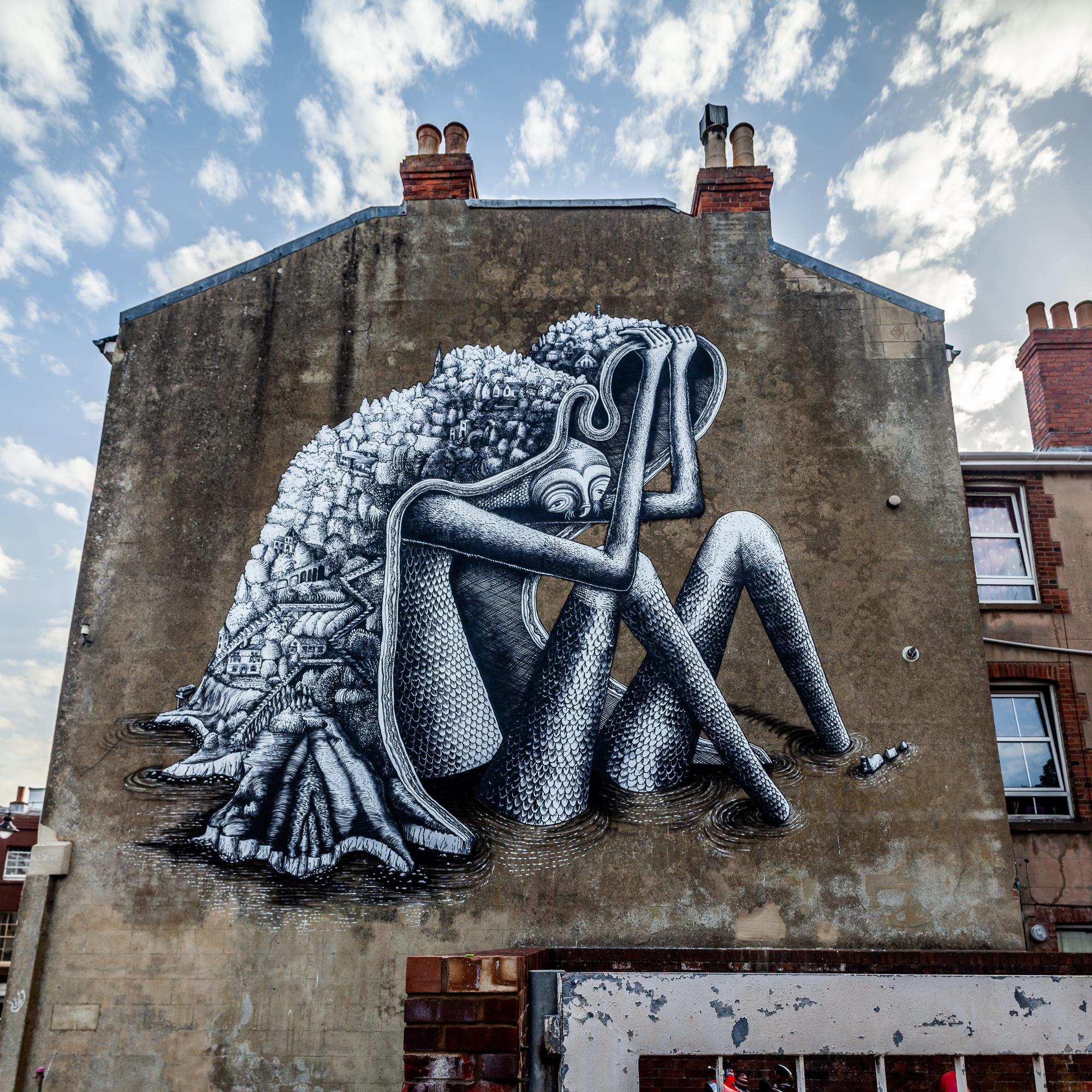 Phlegm Street Art Ventnor Isle of Wight