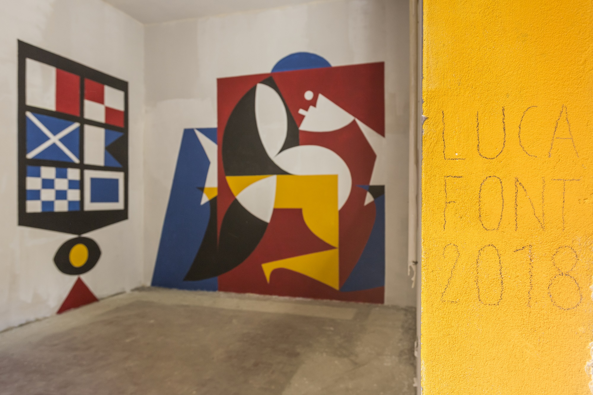 Festiwall 2018 Ragusa Mostre Alex Fakso Clemens Behr Luca Font