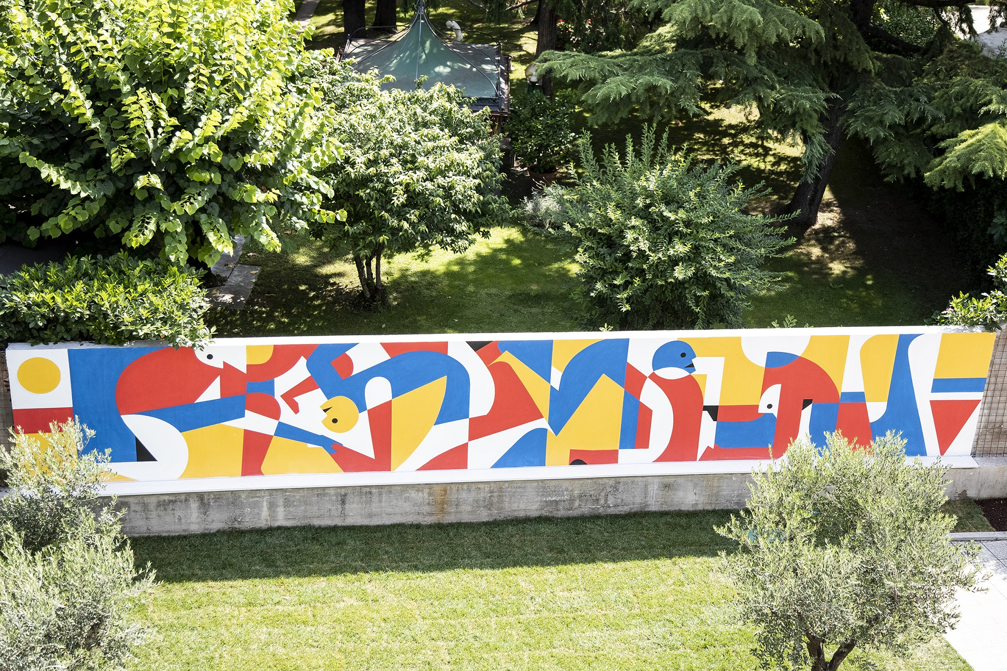 Luca Font Street Art Rame Project Verona Stravagante Hostel