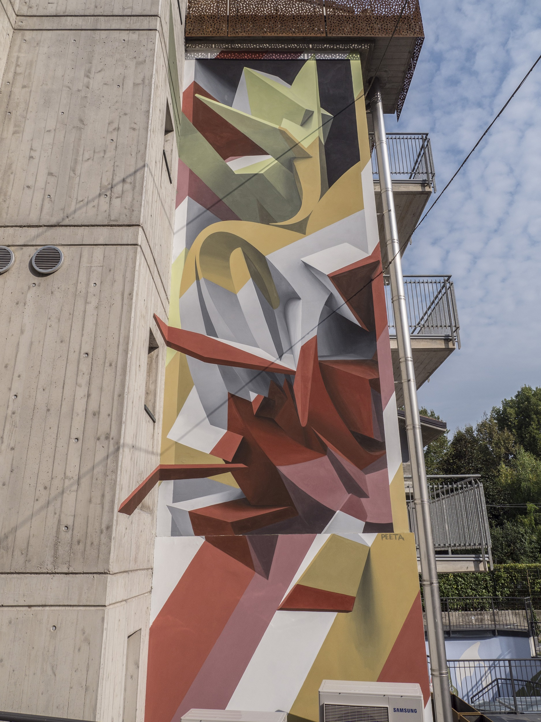Peeta Street Art Rame Project Verona Stravagante Hostel