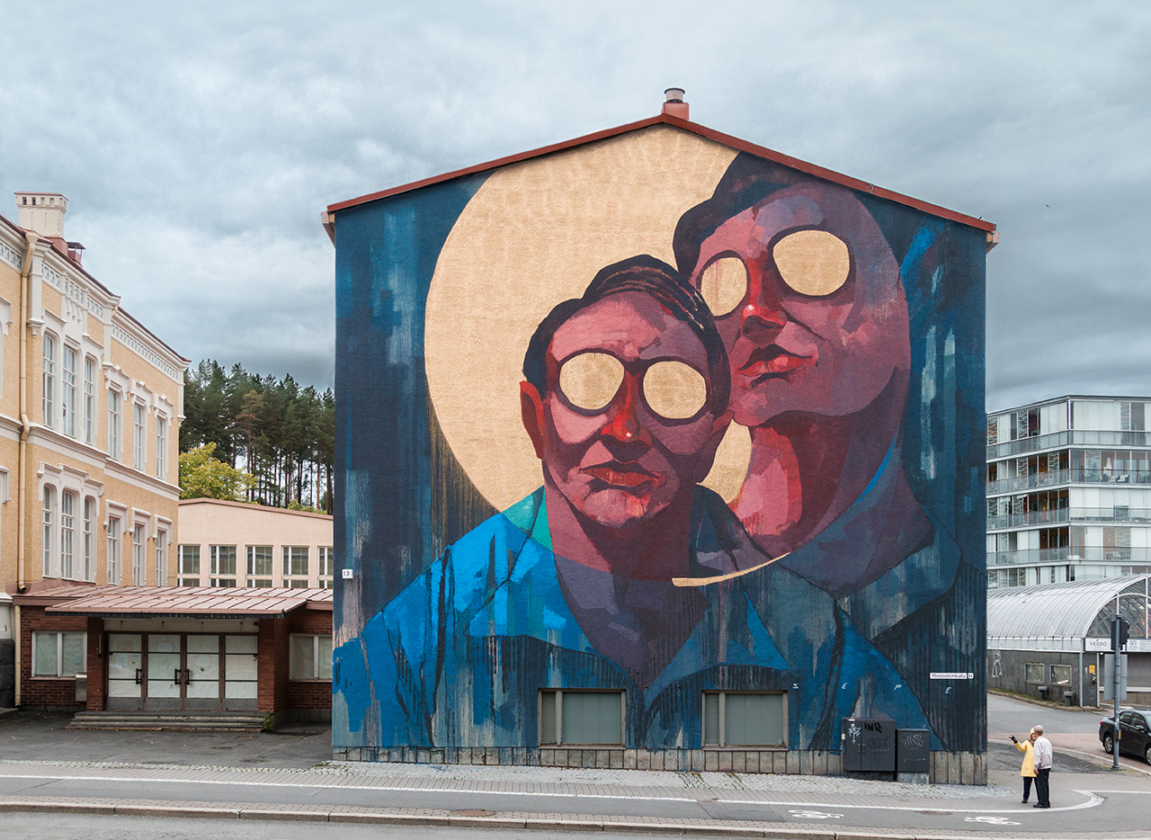 Sepe Street Art Jyvaskyla Finlandia Upeart Festival