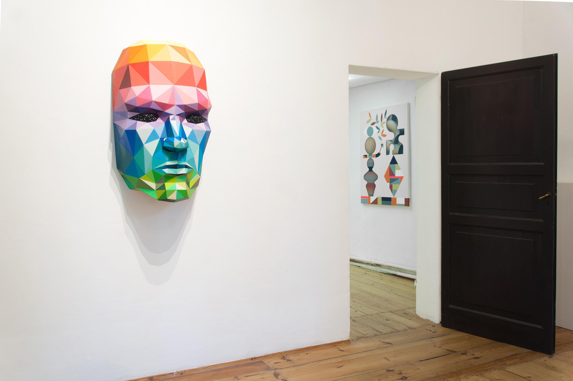Surreal Irreverence: Hell'O Okuda Zebu Magma Gallery