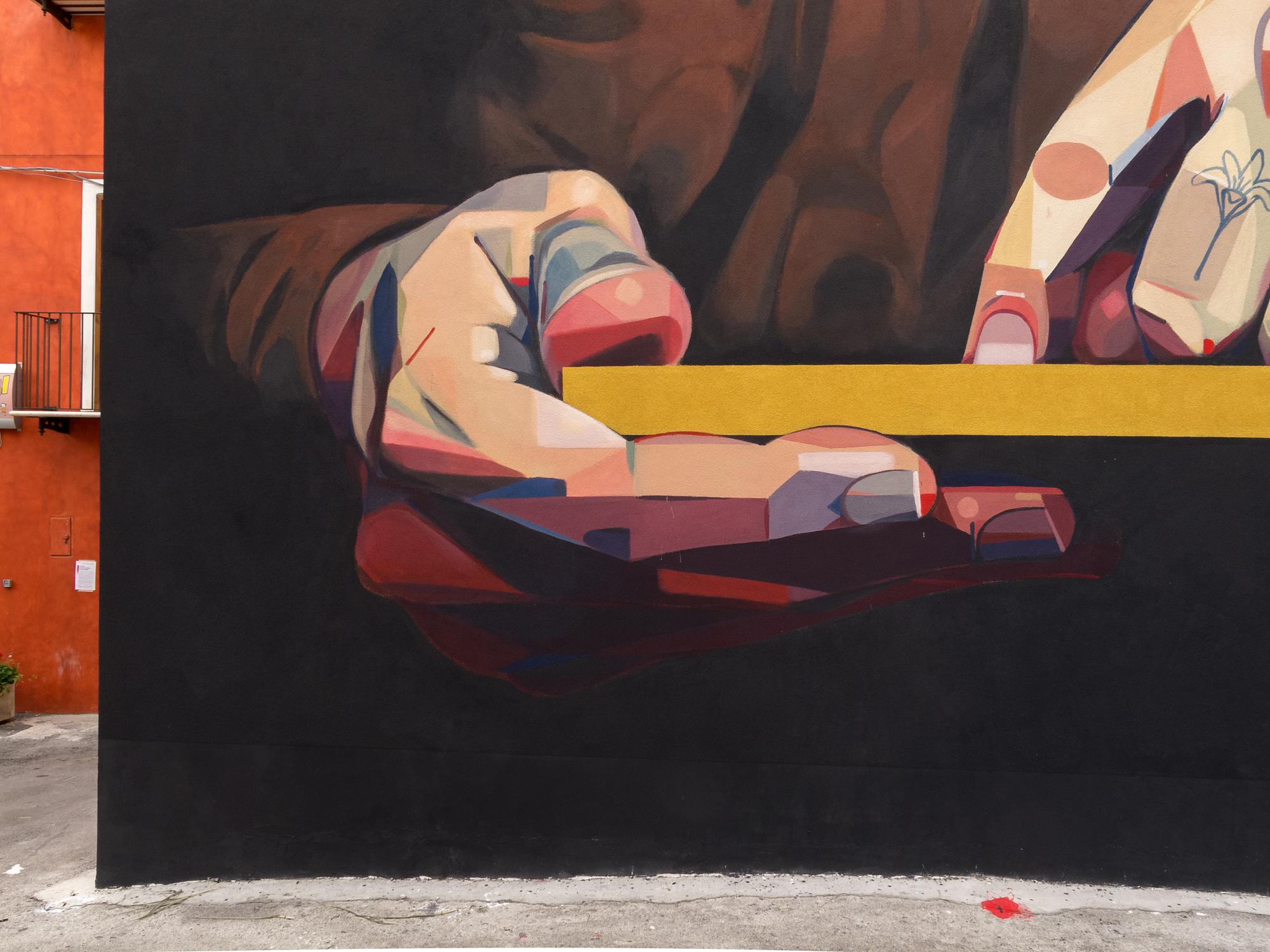 Basik Street Art Santa Croce di Magliano PAG Premio Antonio Giordano