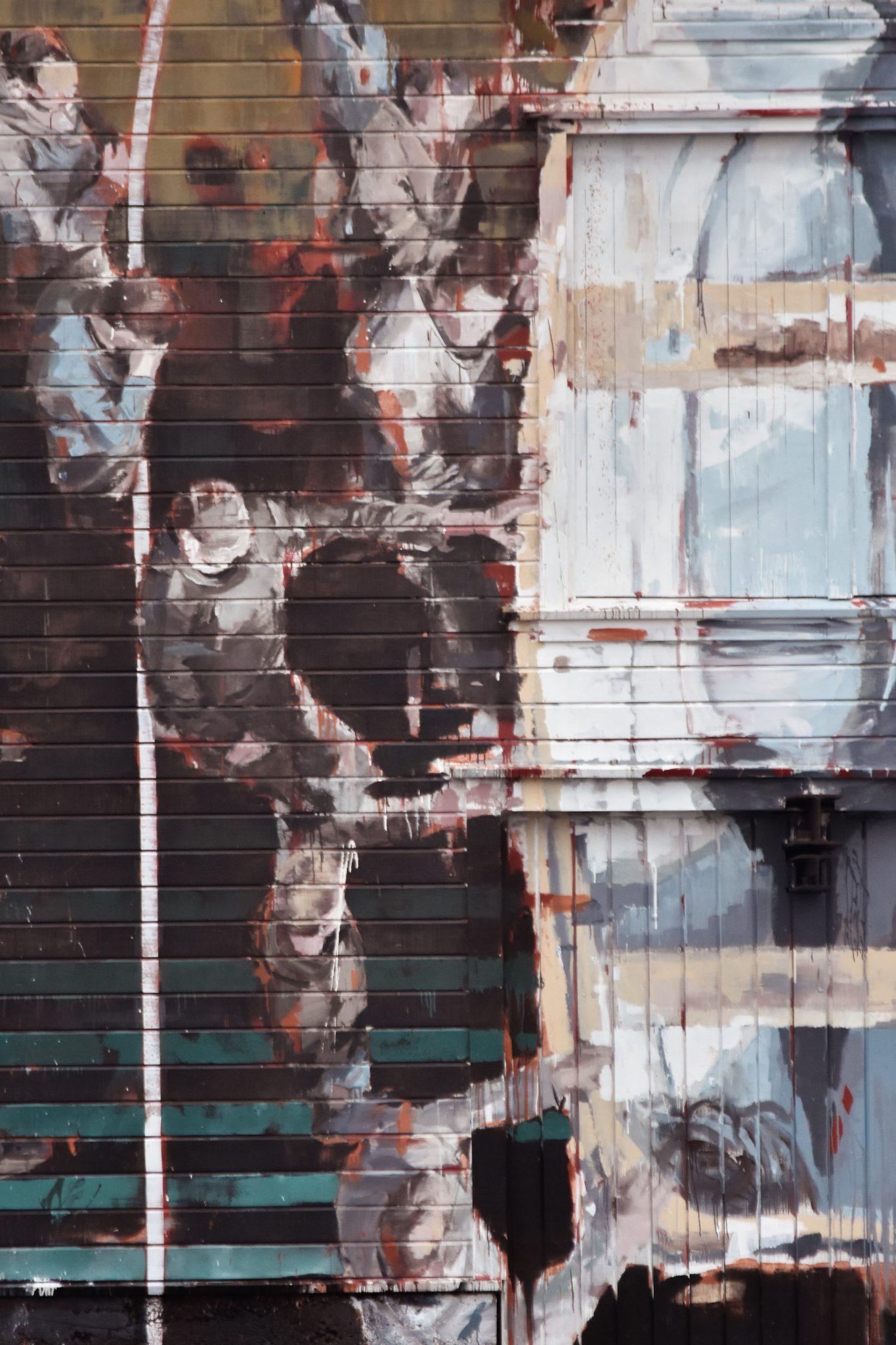 Borondo Street Art Utsira Norway