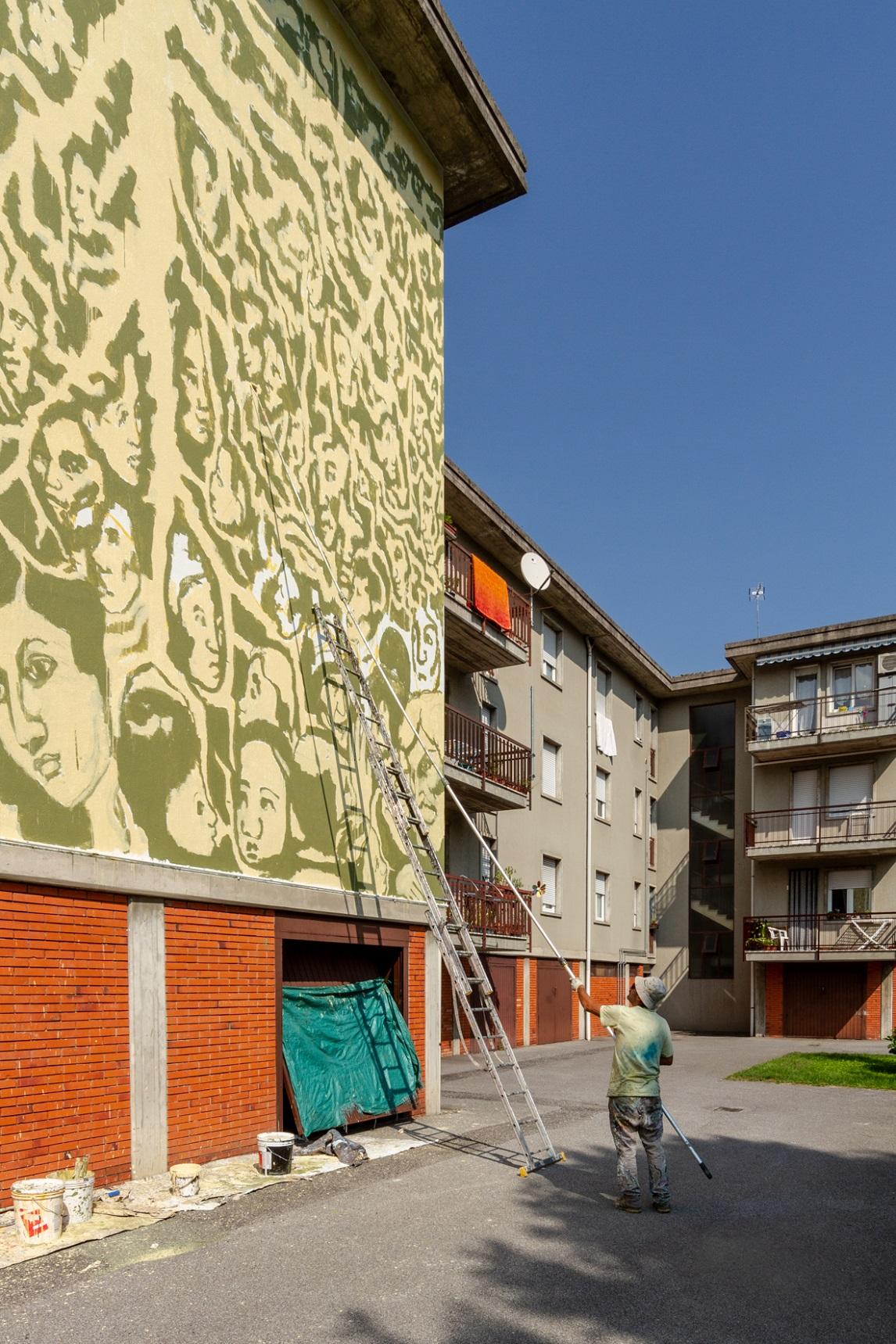 Collettivo Fx Street Art Wall in Art Valle Camonica Angone Darfo Boario Terme