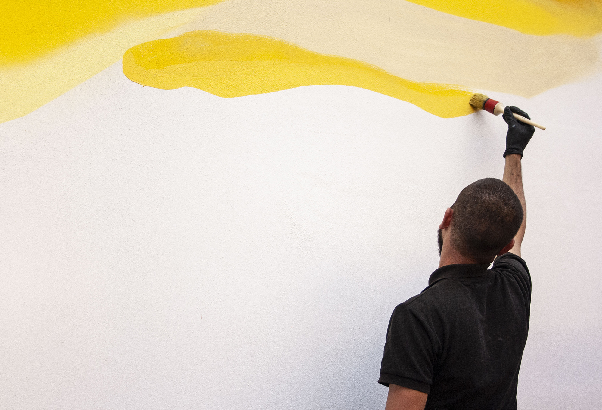 Giorgio Bartocci Street Art McFit Bologna murale