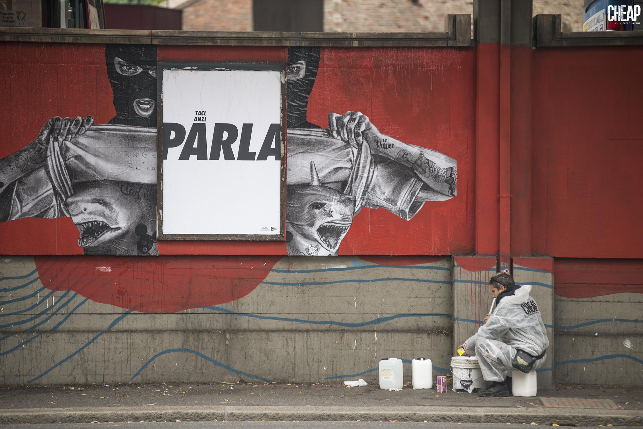 MissMe CHEAP Bologna Street Art