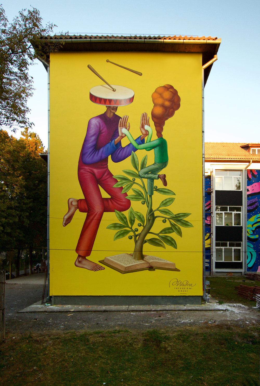 Waone Interesni Kazki Street Art Cluj-Napoca