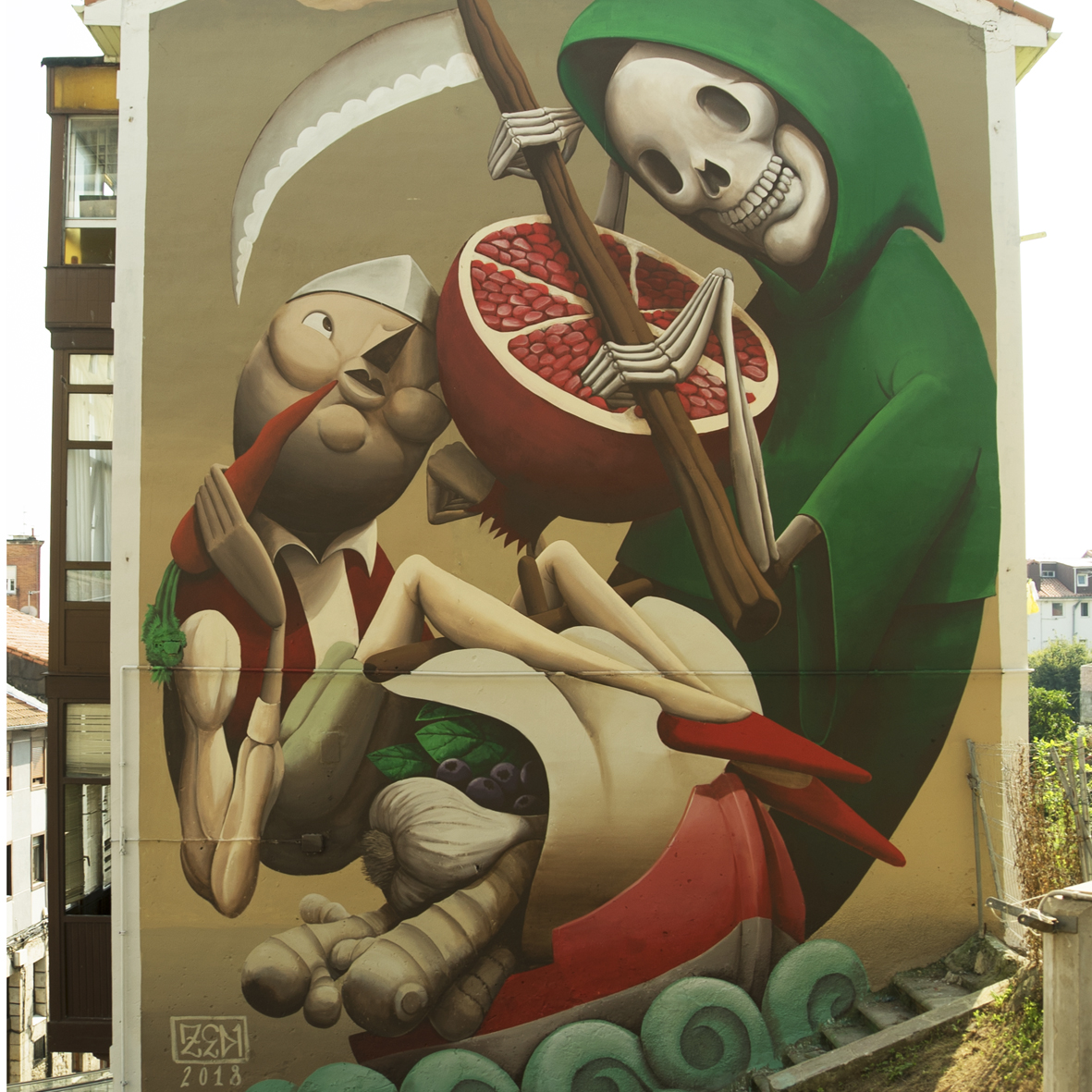 Zed1 Street Art Santander
