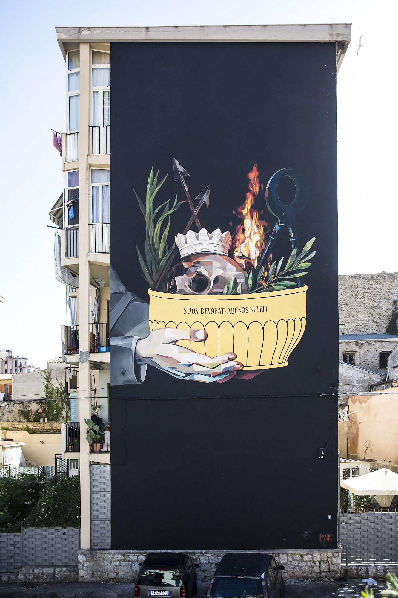 Basik Street Art Kalsa Palermo Pangrel - Arte Meticcia