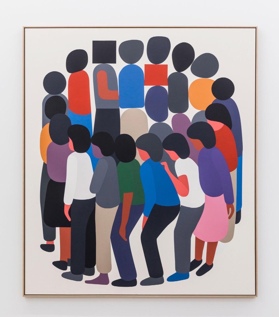 Geoff McFetridge Coming Back Is Half The Trip Eighteen Gallery